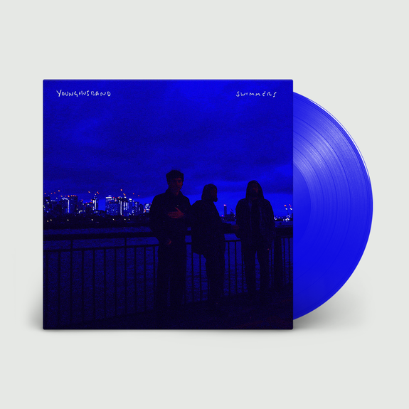 Younghusband: Swimmers: Signed Limited Edition Transparent Blue Vinyl