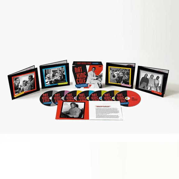 Nat King Cole: Hittin' The Ramp: The Early Years (1936 - 1943) 7CD Boxset