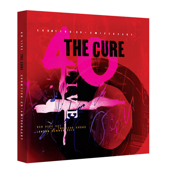 The Cure: 40 LIVE - CURÆTION-25 + ANNIVERSARY: Limited Deluxe 2Blu-Ray + 4CD Box