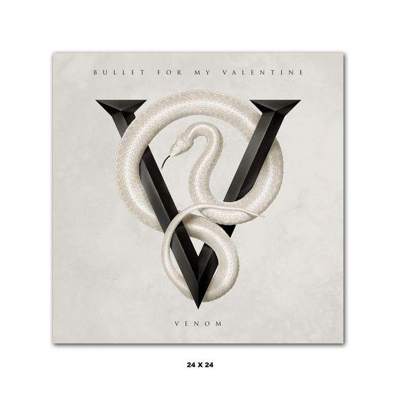 Bullet For My Valentine: Signed Venom Poster