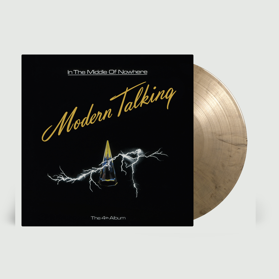 Modern Talking: In The Middle Of Nowhere: Limited Edition Black/Gold Marbled Vinyl LP