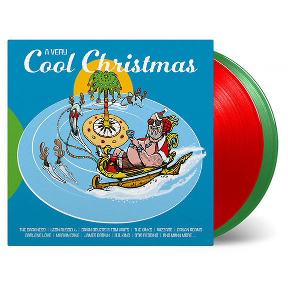 Various Artists: A Very Cool Christmas: Limited Edition Transparent Red & Green Vinyl