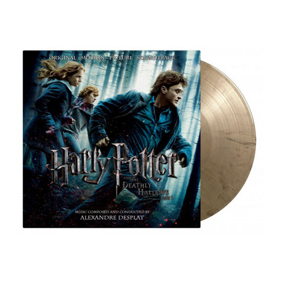 Original Soundtrack: Harry Potter and the Deathly Hallows Pt. 1: Limited Edition Gold & Black Swirled Vinyl