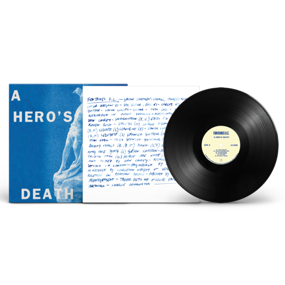 FONTAINES D.C.: A Hero's Death: Black Vinyl