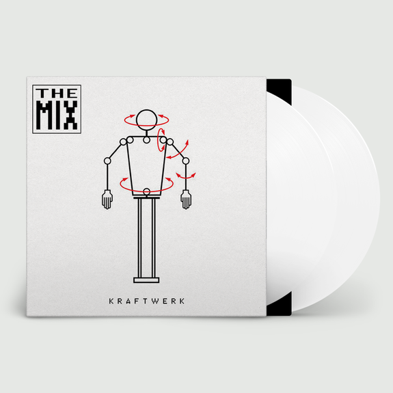 Kraftwerk: The Mix: Limited Edition Double White Vinyl