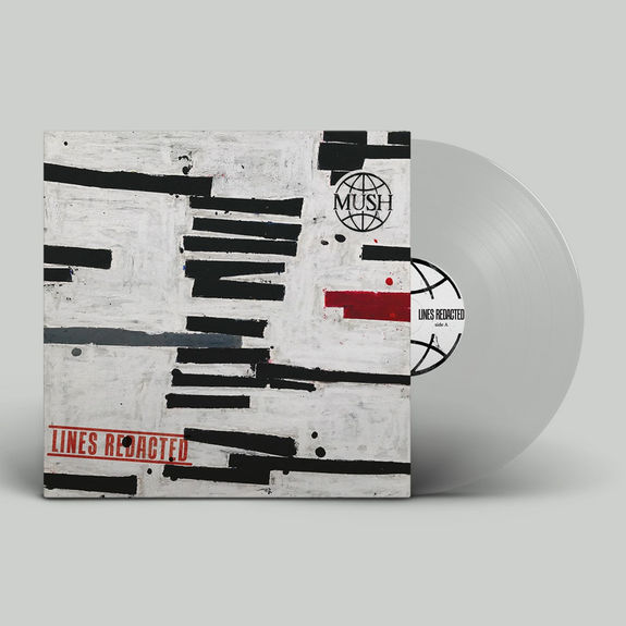 Mush: Lines Redacted: Signed Clear Vinyl