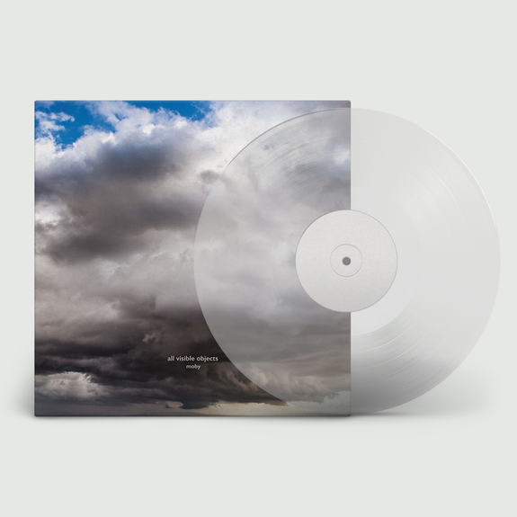Moby: All Visible Objects: Limited Edition Clear Vinyl