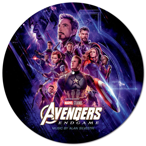 Alan Silverstri: Avengers - End Game: Limited Edition Picture Disc