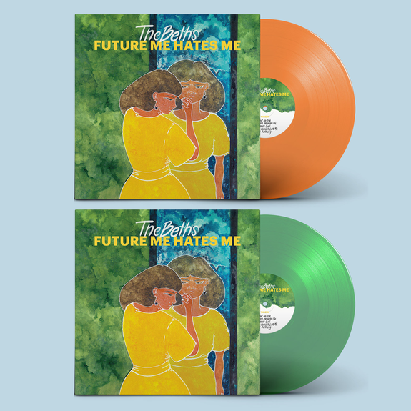 The Beths: Future Me Hates Me: Limited Edition Randomly Packed Orange or Emerald Green Vinyl