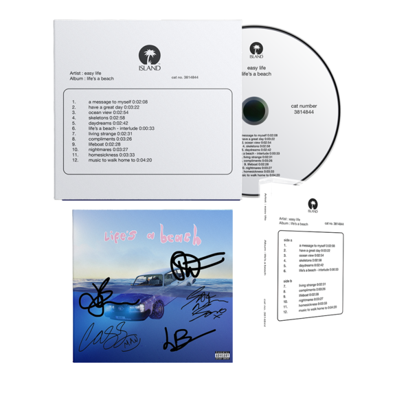 Easy Life: life's a beach: rare first issue bundle