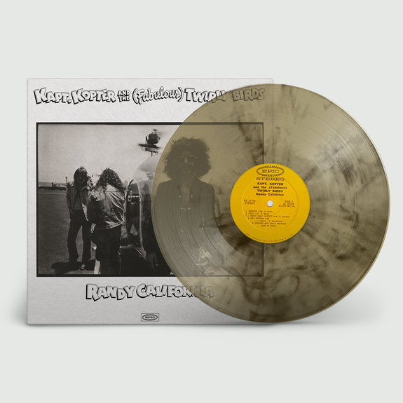 Randy California: Kapt. Kopter and The Fabulous Twirlybirds: Limited Edition Smoke Vinyl