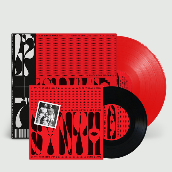 Black Devil: Lucifer is A Flower: Limited Edition Red Vinyl + Bonus 7