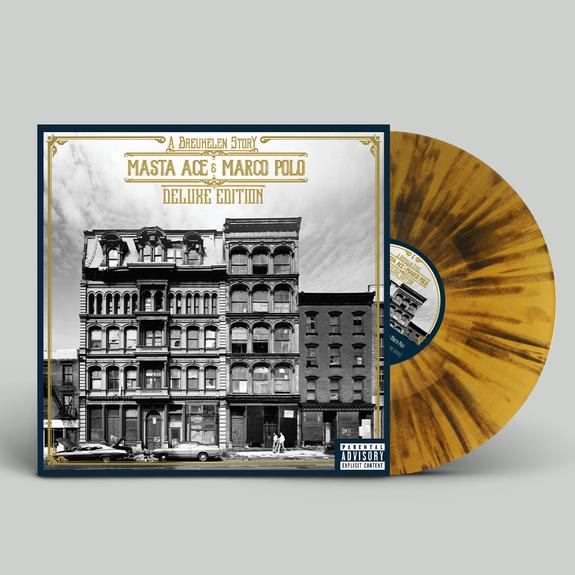 Masta Ace & Marco Polo: A Breukelen Story: Deluxe Edition Gold + Black Splatter Triple Vinyl
