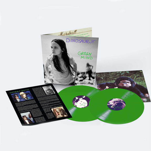 Dinosaur Jr: Green Mind: Deluxe Expanded Edition Double Green Vinyl