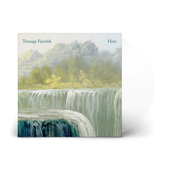 Teenage Fanclub: Here: Limited Edition Clear Vinyl LP [Repress]