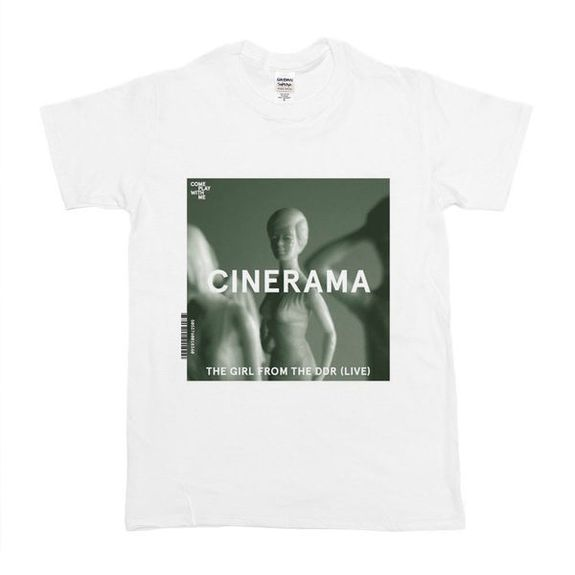 Cinerama: The Girl From The DDR (Live) Small T-Shirt