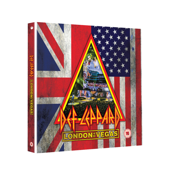 Def Leppard: London To Vegas: Deluxe 2DVD + 4CD Box Set