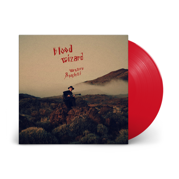 Blood Wizard: Western Spaghetti: Signed Blood Red Vinyl