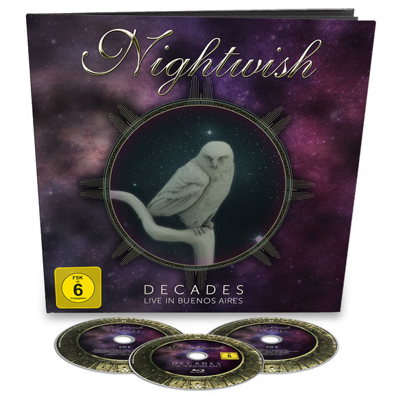Nightwish: Decades: Live In Buenos Aires - Limited Edition Blu-Ray + 2CD Earbook