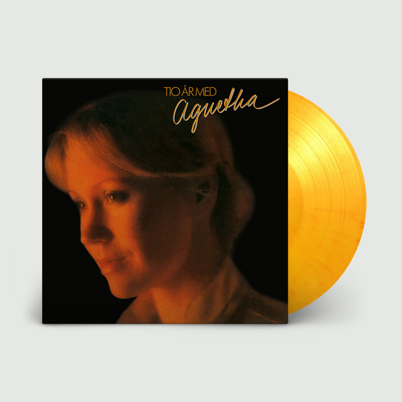 Agnetha Faltskog: Tio Ar Med Agnetha: Limited Edition Flaming Orange Vinyl