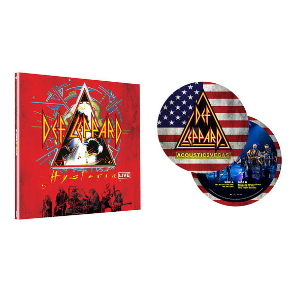 "Def Leppard: Exclusive Picture Disc 10"" + Crystal Clear Vinyl Bundle"