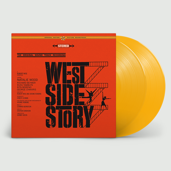 Original Soundtrack: West Side Story: Limited Edition Gatefold Yellow Vinyl