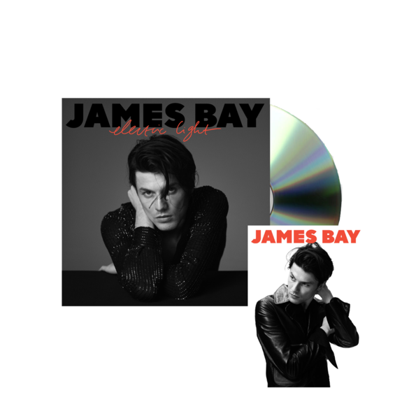 james bay: Electric Light Standard CD + Signed Postcard