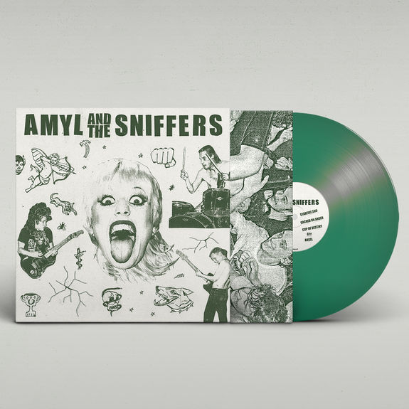 Amyl and the Sniffers: Amyl & the Sniffers: Limited Edition Green Vinyl