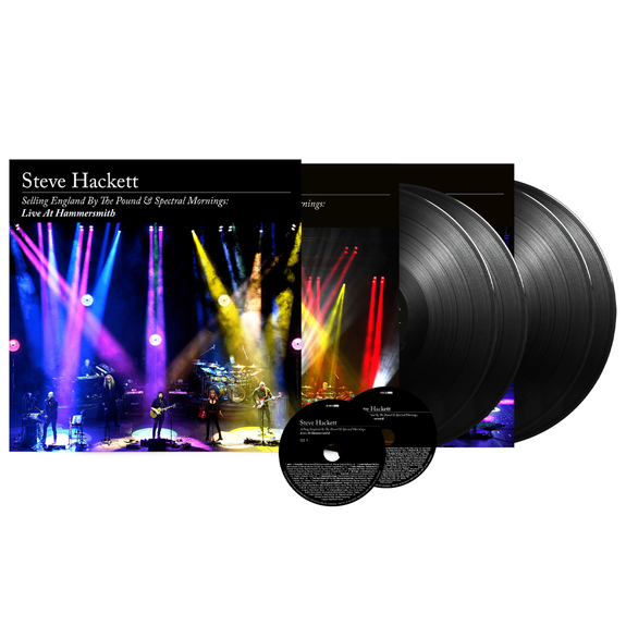 Steve Hackett: Selling England By The Pound & Spectral Mornings, Live At Hammersmith: Limited Edition 4LP + 2CD Box Set