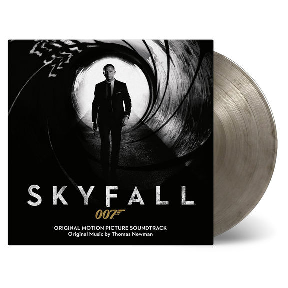 Original Soundtrack: Skyfall: Transparent/Black Mixed Numbered Vinyl