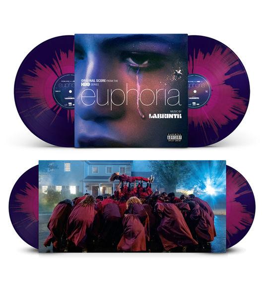 Labrinth: Euphoria (Season 1): Limited Edition Blue + Purple Splatter Vinyl
