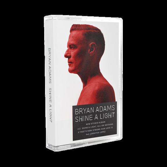 Bryan Adams: Shine A Light Cassette