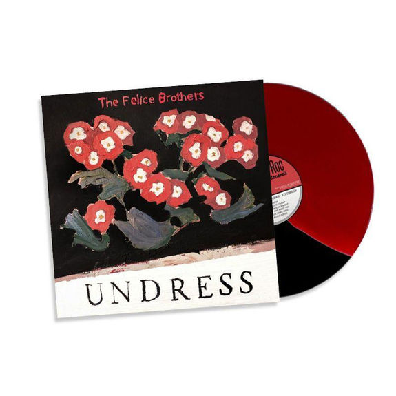 The Felice Brothers: Undress: Limited Edition Red Black Split Vinyl