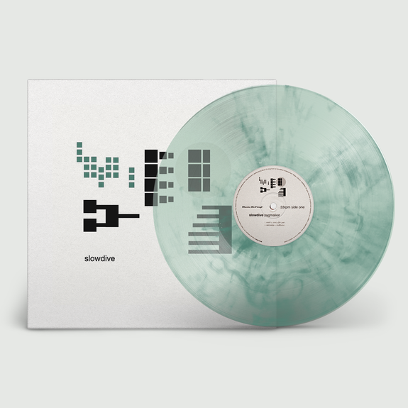 Slowdive: Pygmalion: Limited Edition Clear & Green Marbled Vinyl