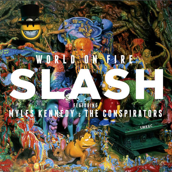 Slash ft Myles Kennedy & The Conspirators: World On Fire