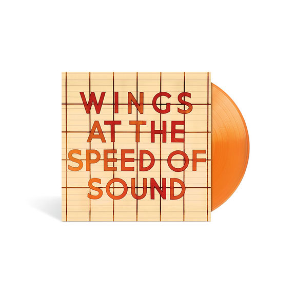 Wings: At The Speed Of Sound Limited Edition Orange Vinyl