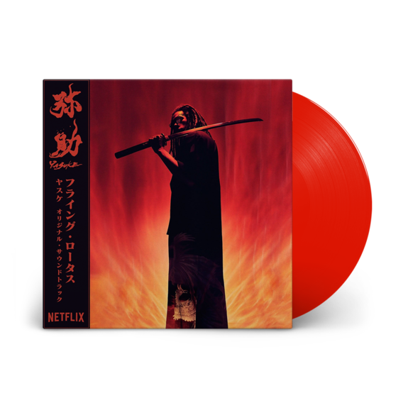 Flying Lotus: Yasuke: Limited Edition Red Vinyl LP + OBI Strip