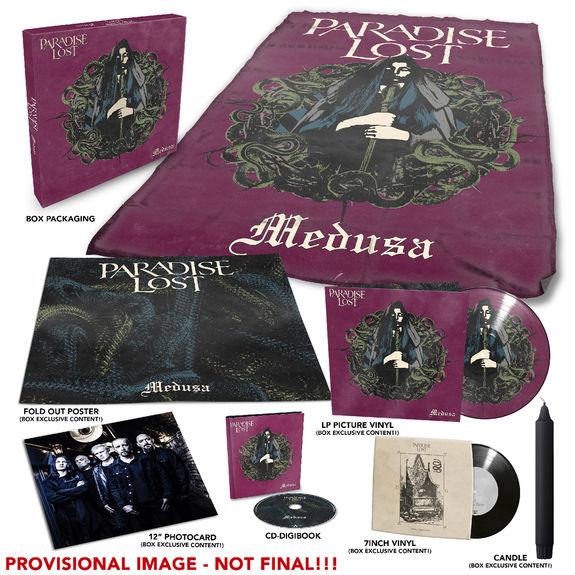 Paradise Lost: Medusa Limited Edition Box Set + Signed Insert