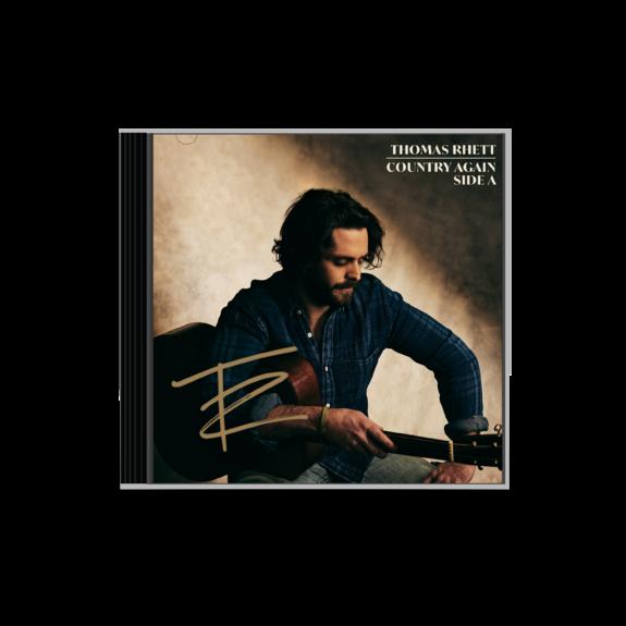 Thomas Rhett: COUNTRY AGAIN SIDE A SIGNED CD