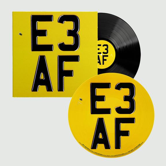 Dizzee Rascal: E3 AF: Exclusive Signed 180gm Vinyl LP + Picture Disc