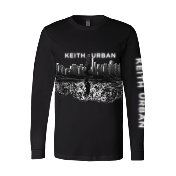 Keith Urban: Skyline Black Long Sleeve