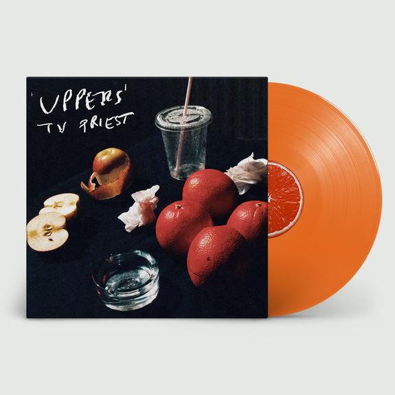 TV Priest: Uppers: Signed Exclusive Orange Vinyl