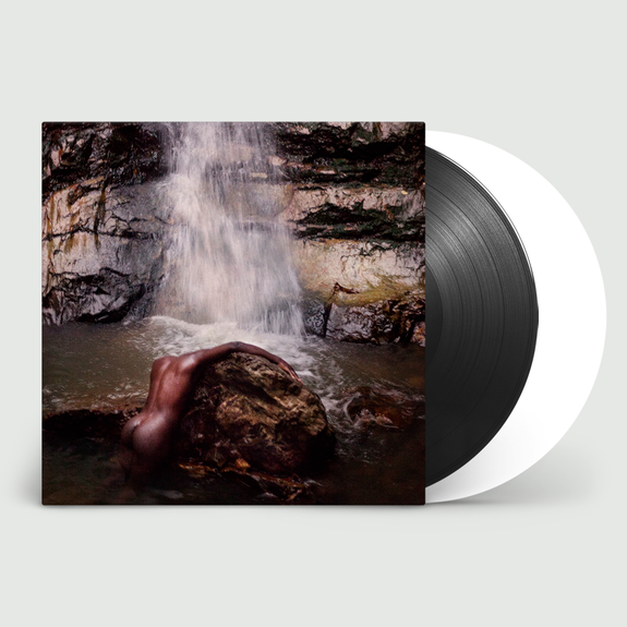 Moses Sumney : græ: Limited Edition Black and White Vinyl + Exclusive Hand-Numbered Print