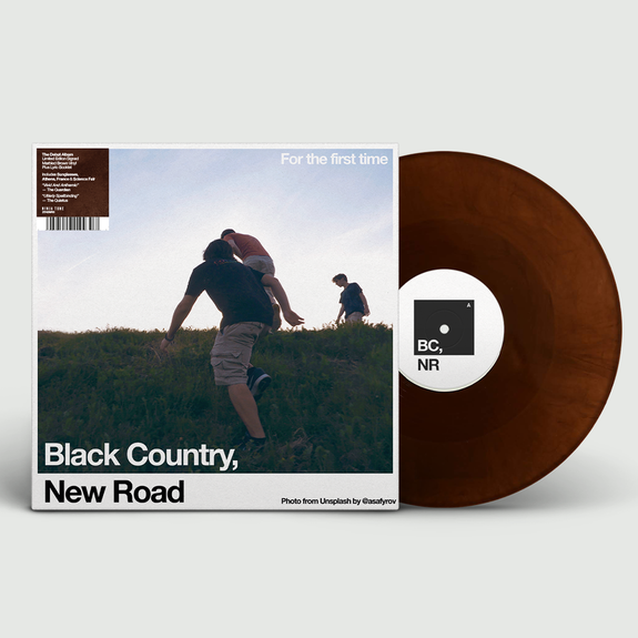 Black Country, New Road: For the first time: Recordstore Exclusive Signed Marbled Brown Vinyl