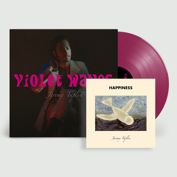 Jeremy Tuplin: Violet Waves: Signed Exclusive 180gm Purple Vinyl + Exclusive Stencil-Sprayed EP