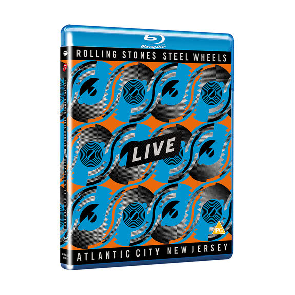 The Rolling Stones: Steel Wheels Live SD Blu-Ray