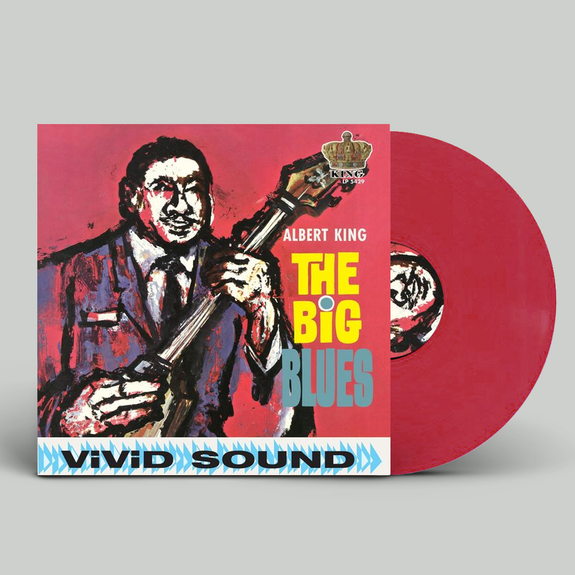 Albert King: The Big Blues: Red Vinyl
