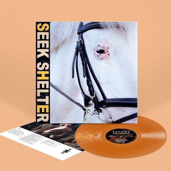 Iceage: Seek Shelter: Limited Edition Transparent Orange Vinyl