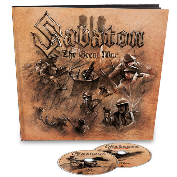 Sabaton: The Great War (History Edition): 2CD Earbook (36 Page Booklet) with Signed Insert