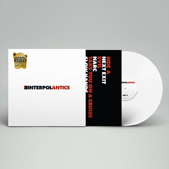 Interpol: Antics: Limited 15th Anniversary Edition White Vinyl